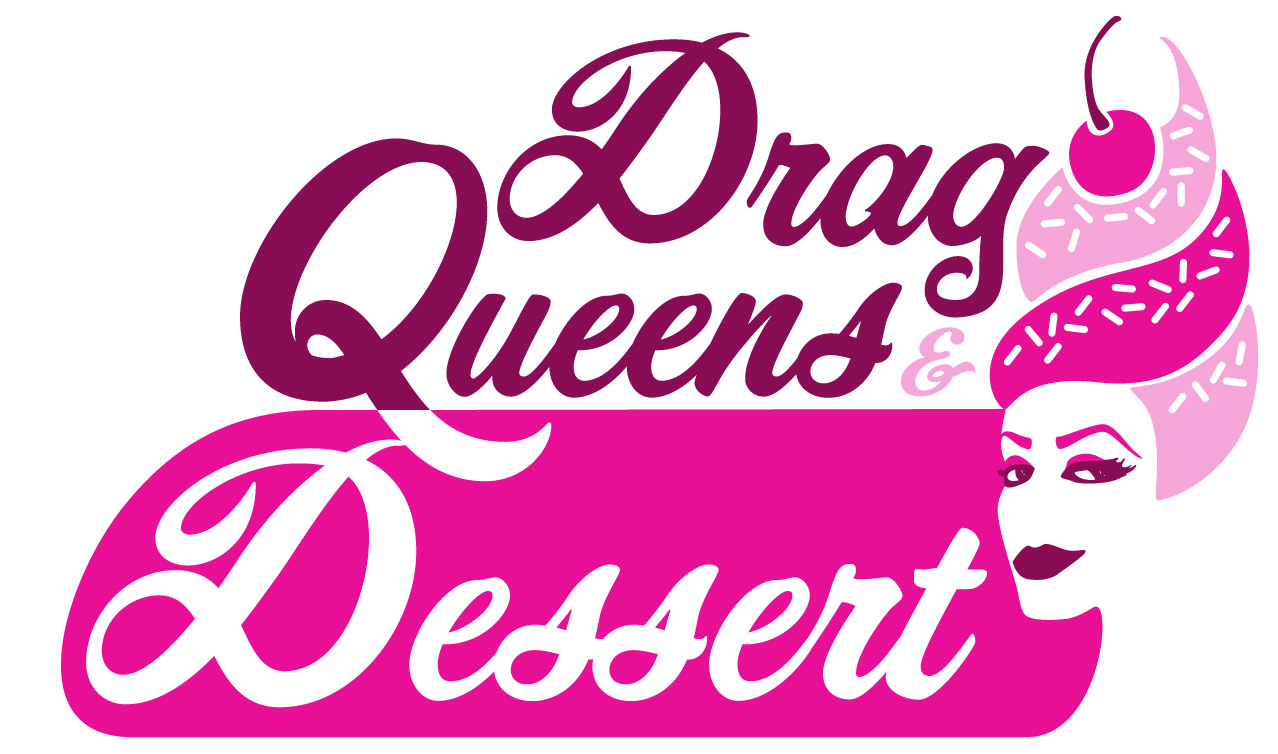 Drag Queens and Dessert - Logo