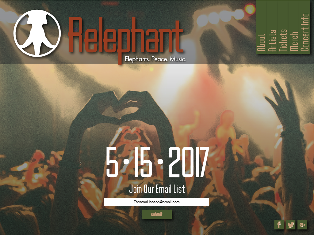 Relephant-Web Design