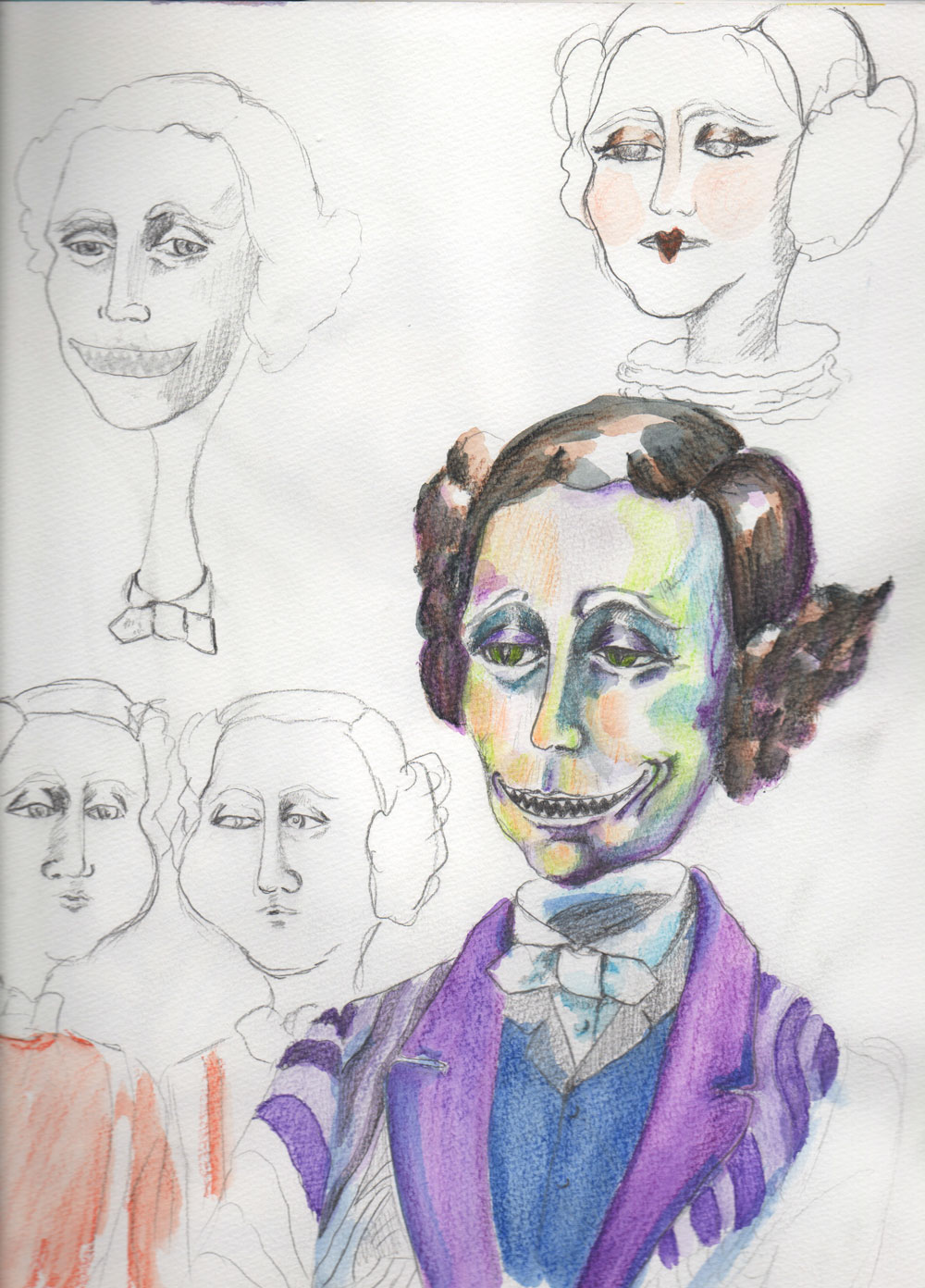Lewis Carroll-Sketch